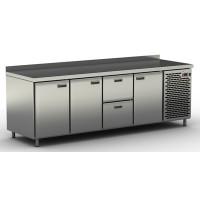 Столы холодильные / морозильные с ящиками и дверьми СШН-2,3-2300