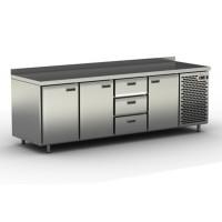 Столы холодильные / морозильные с узкими ящиками и дверьми СШН-3,3-2300