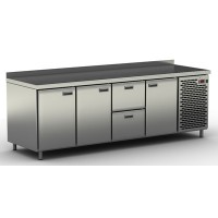 Столы холодильные / морозильные с ящиками и дверьми СШН-2,3 GN-2300