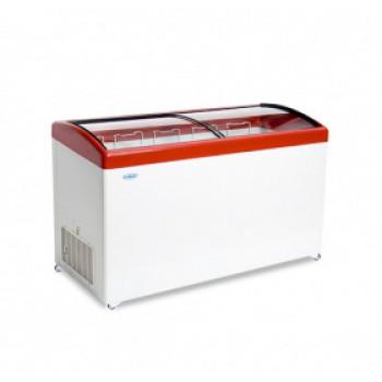 Морозильный ларь с гнутым стеклом МЛГ-500