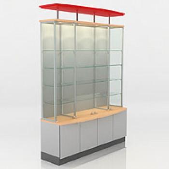 Витрина демонстрационная стеклянная F 40160 GS-S