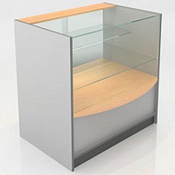 Прилавок остекленный, с раздвижными стеклянными дверцами F6090 PS