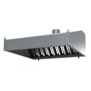 Вытяжной зонт пристенный (ЗВ 1200/700)