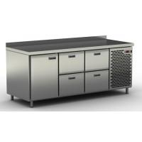Столы холодильные / морозильные с ящиками и дверью СШН-4,1 GN-1850