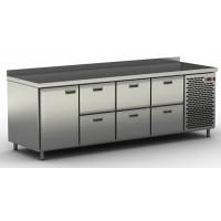 Столы холодильные / морозильные с ящиками и дверью СШН-6,1-2300